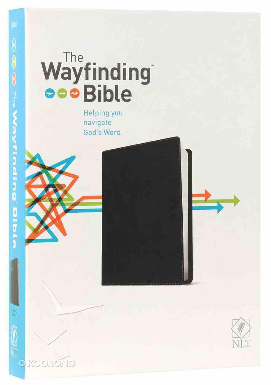NLT Wayfinding Bible Black (Black Letter Edition) Imitation Leather