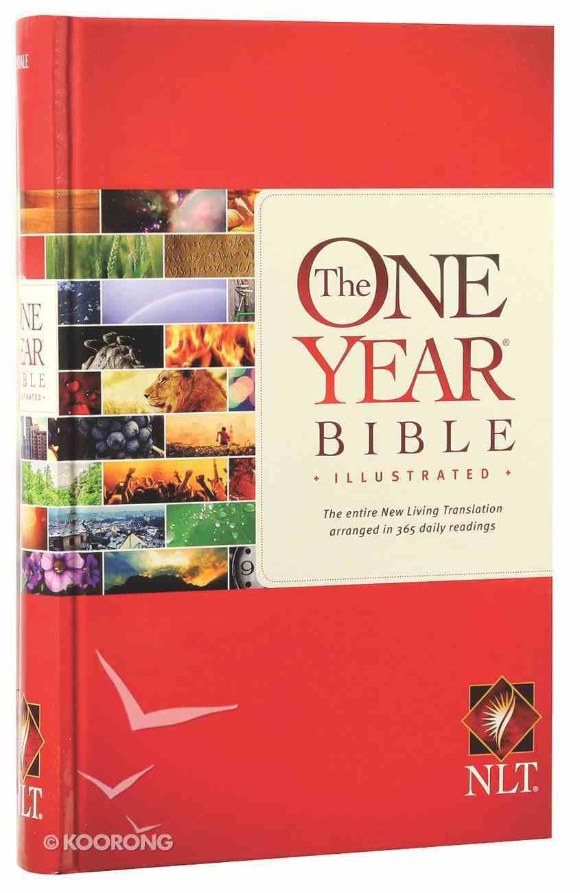 NLT One Year Bible Illustrated (Black Letter Edition) Hardback