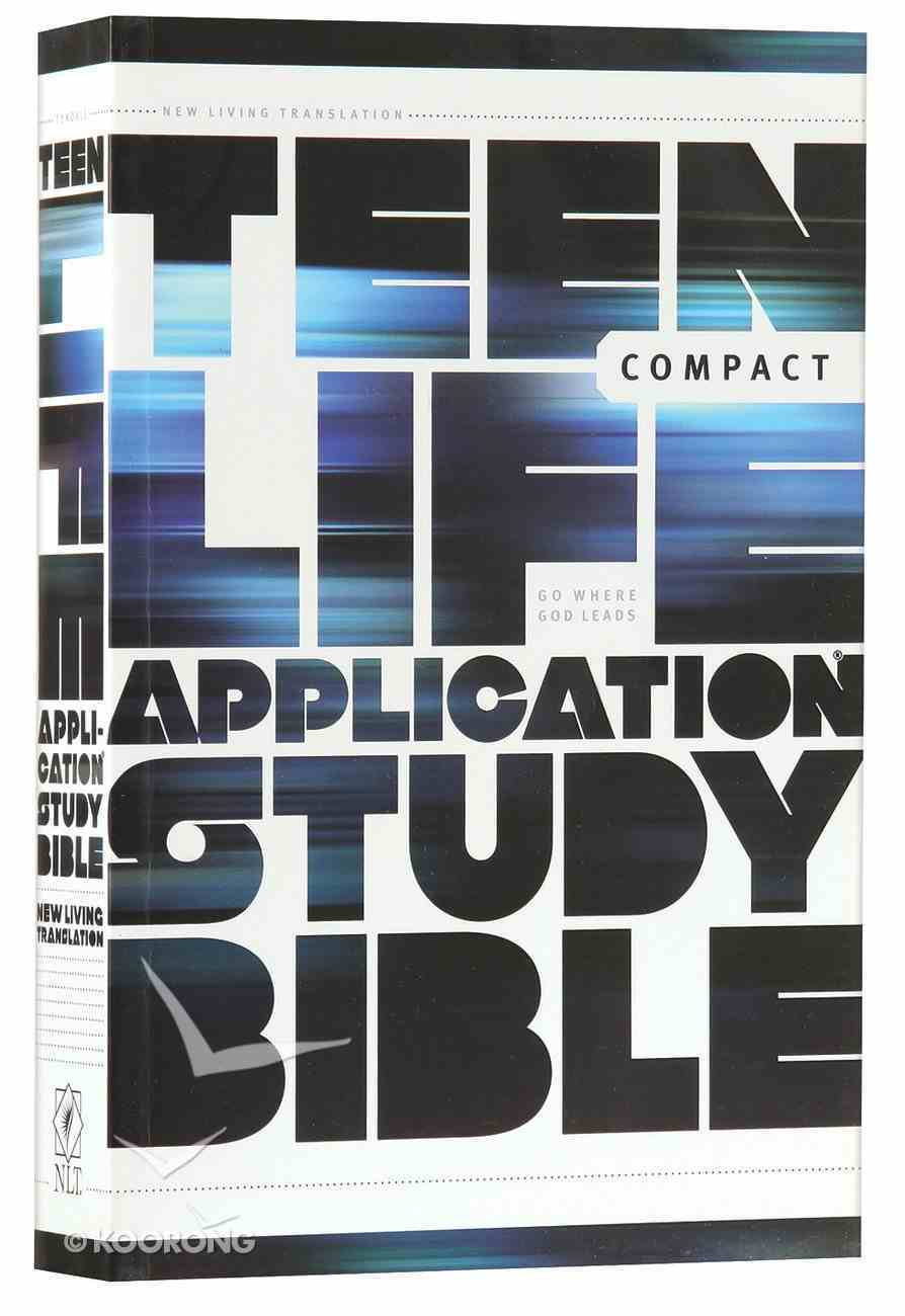 NLT Teen Life Application Study Bible Compact Edition (Black Letter Edition) Paperback
