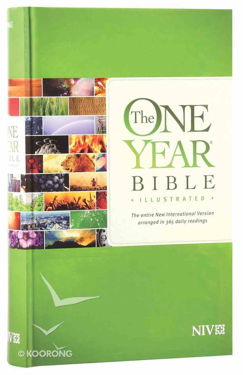 NIV One Year Bible Illustrated (Black Letter Edition) Hardback