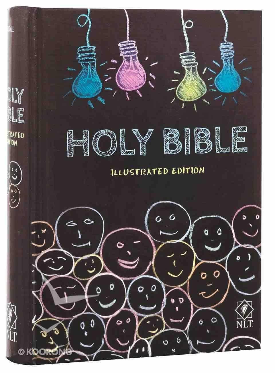 NLT Holy Bible Illustrated Edition Hardback