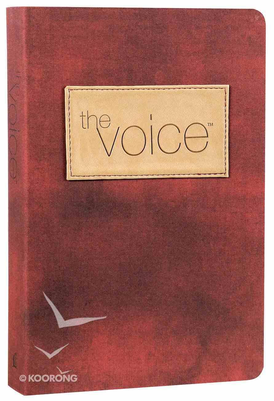 The Voice Bible Burgundy Premium Imitation Leather