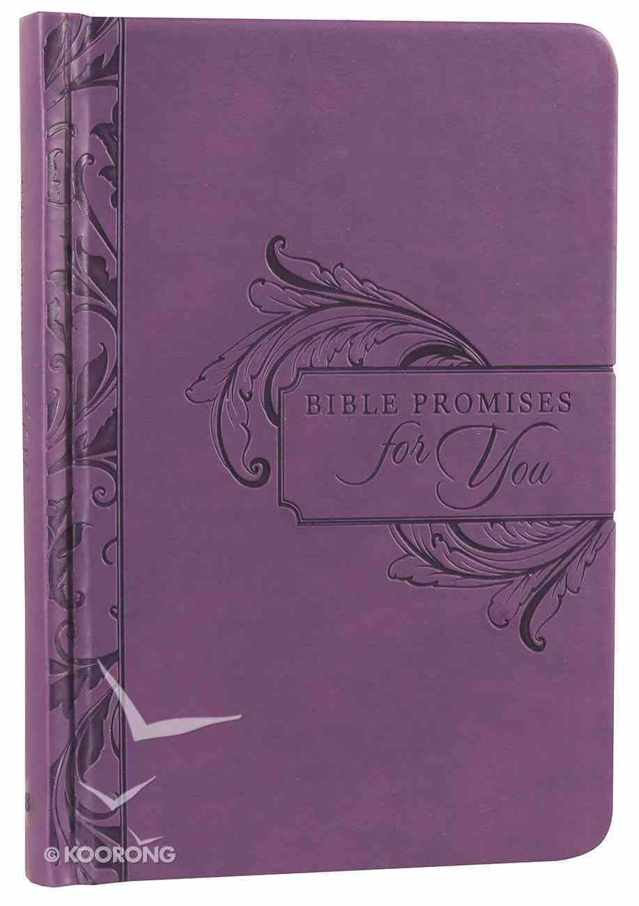 Bible Promises For You (Purple) Imitation Leather