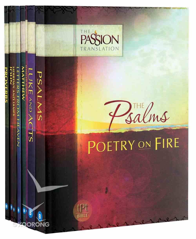 TPT Passion Translation (Black Letter Edition) (8 Pack) Pack
