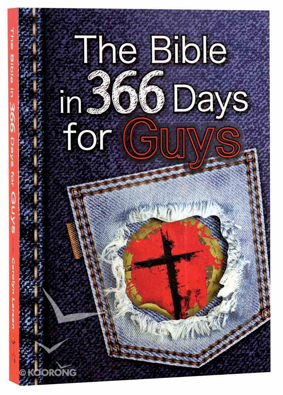 The Bible in 366 Days For Guys Paperback