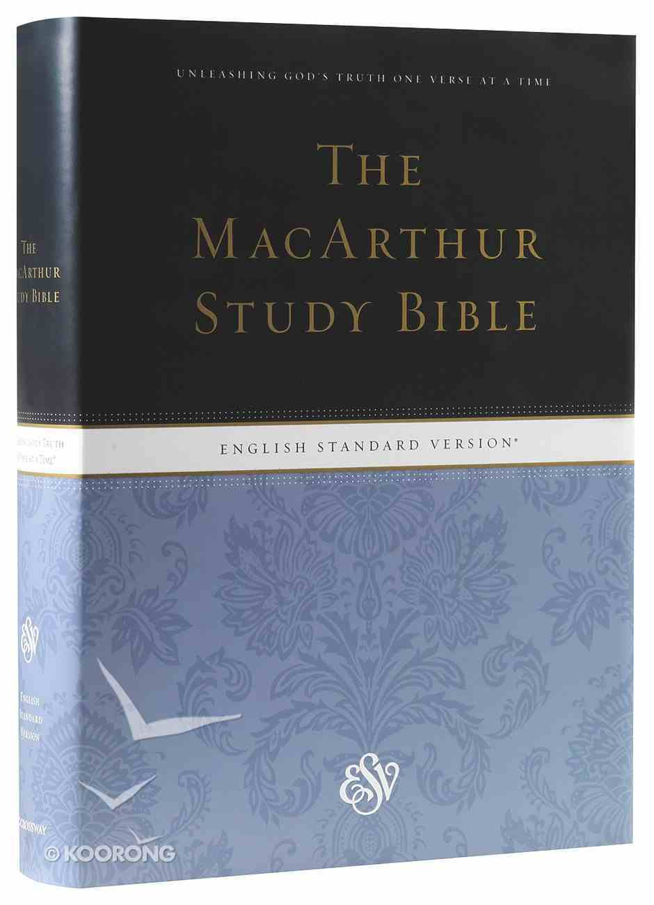 ESV Macarthur Study Bible (Black Letter Edition) Hardback