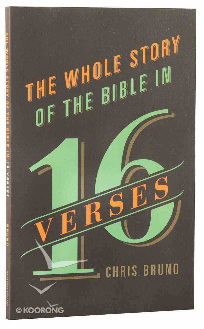 The Whole Story of the Bible in 16 Verses Paperback