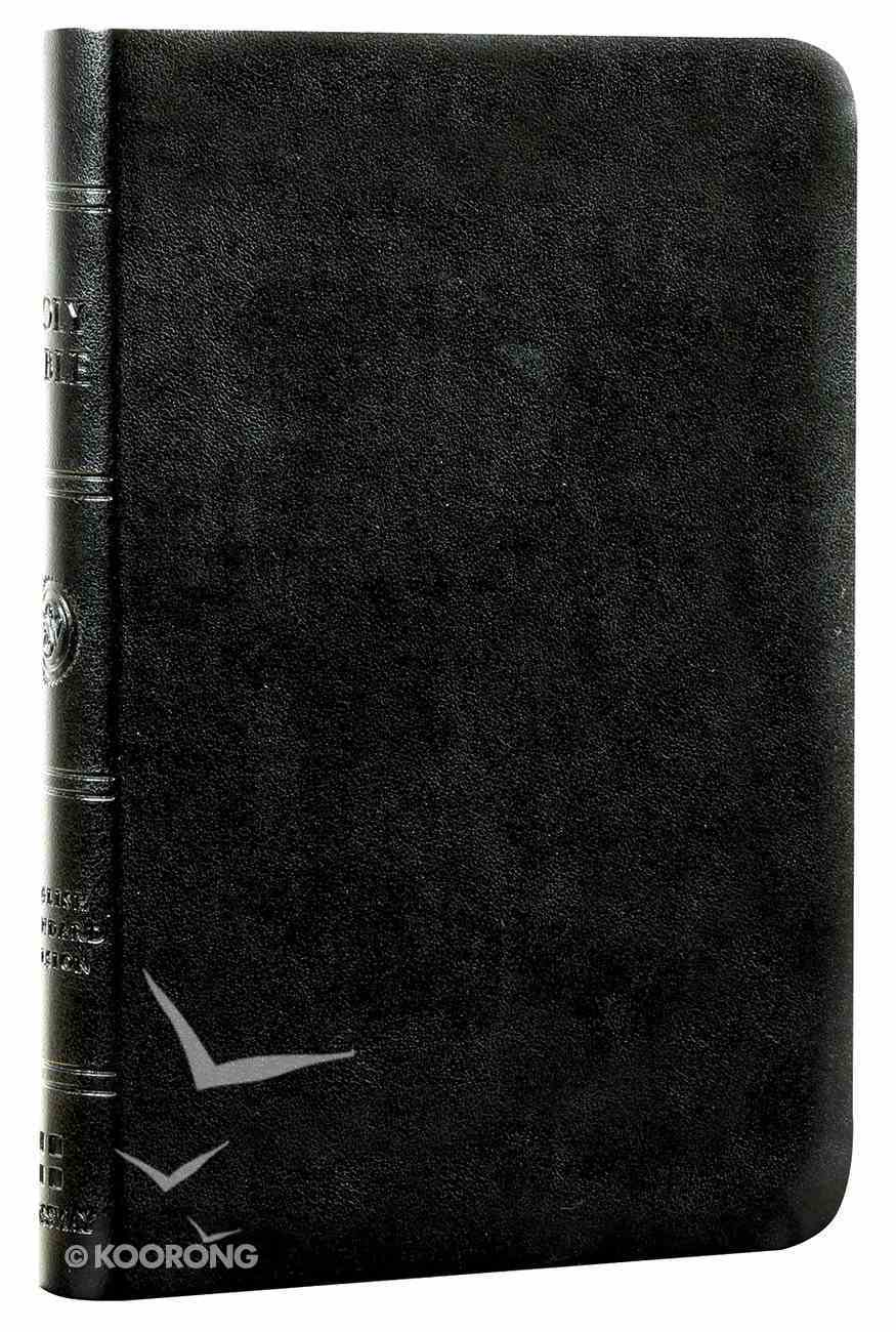 ESV Value Compact Bible Black Trutone (Black Letter Edition) Imitation Leather