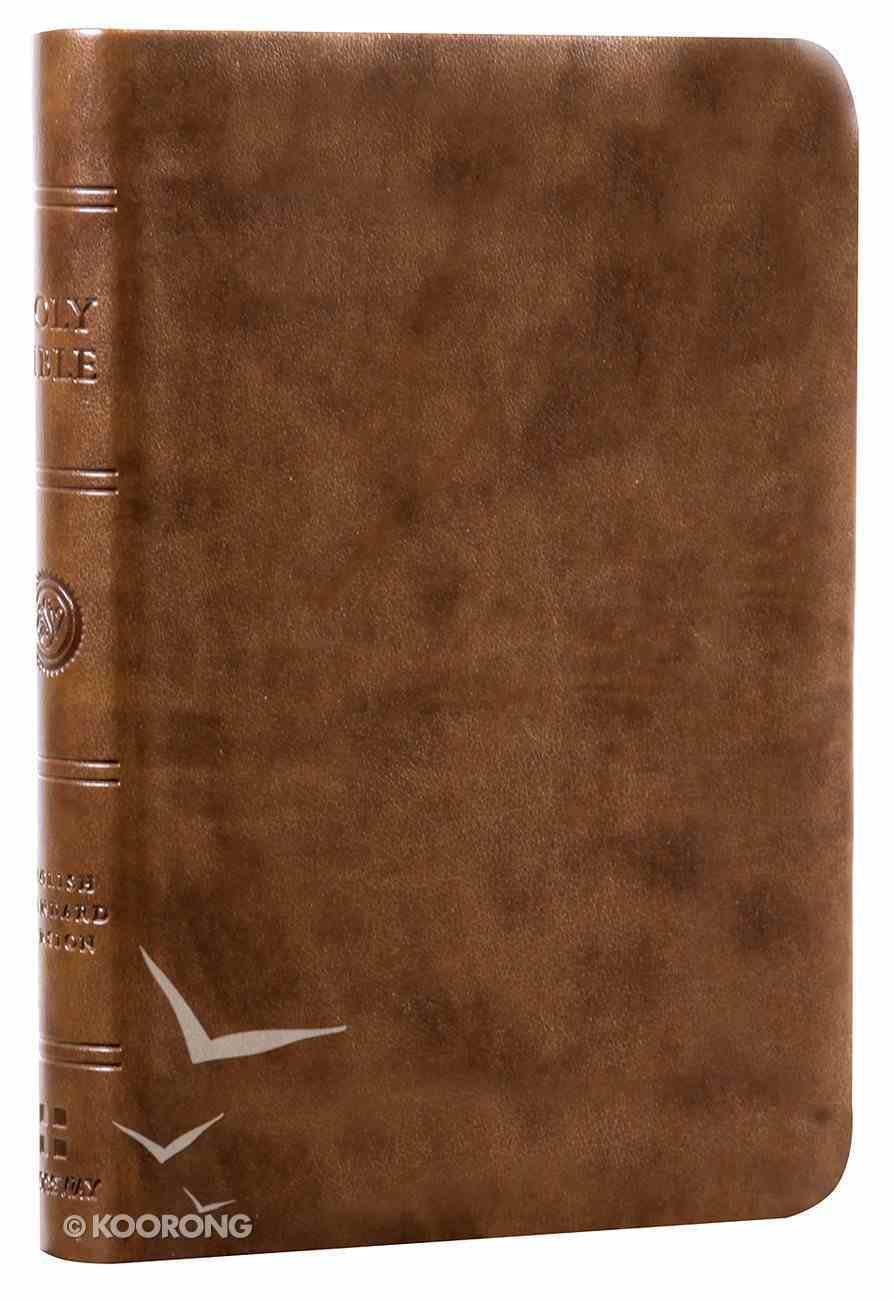 ESV Value Compact Bible Brown Trutone (Black Letter Edition) Imitation Leather