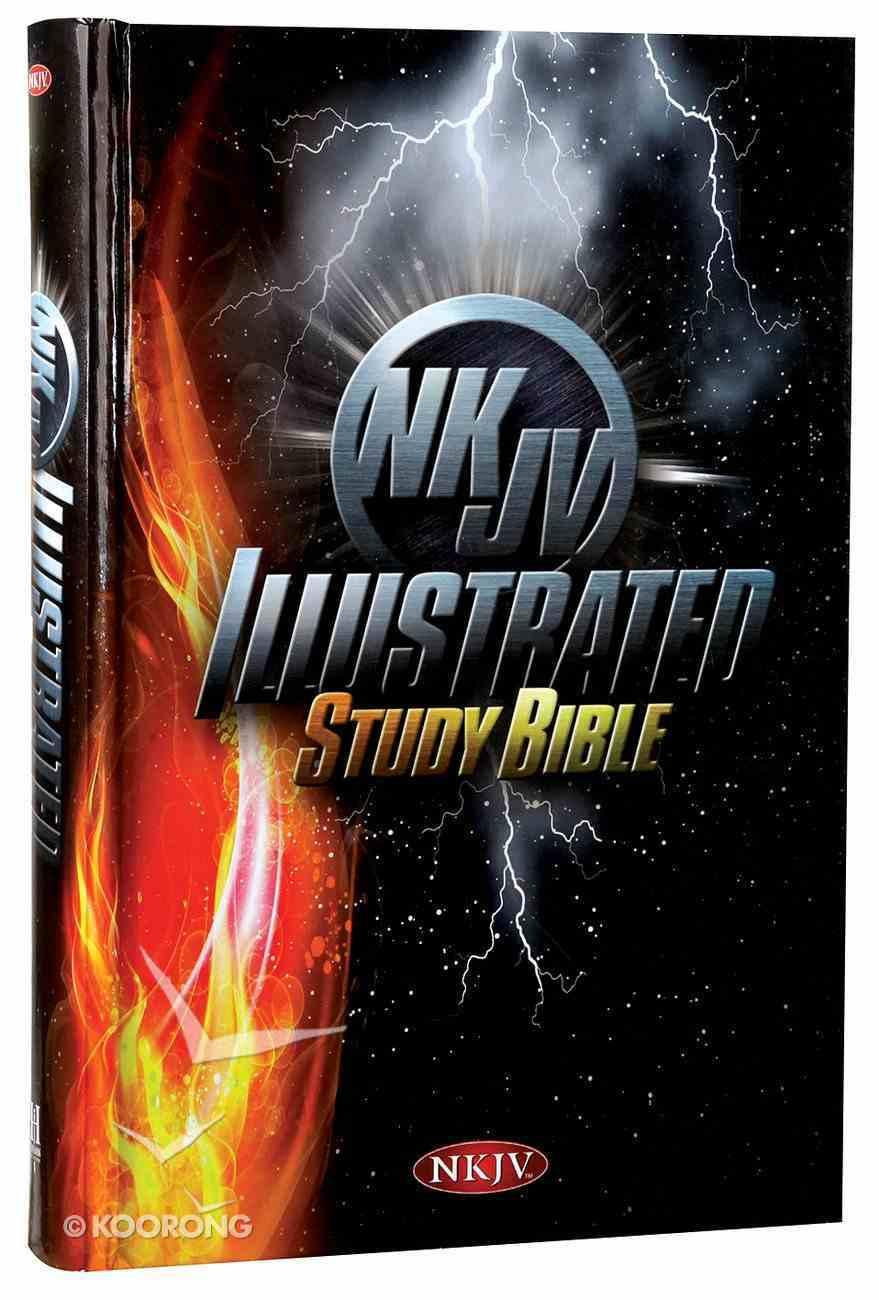NKJV Illustrated Study Bible For Kids Hardcover (Boys Edition) Hardback
