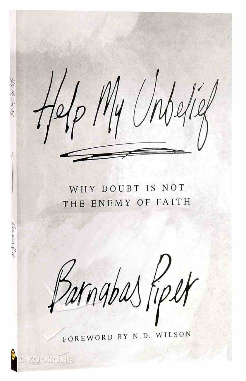 Help My Unbelief Paperback