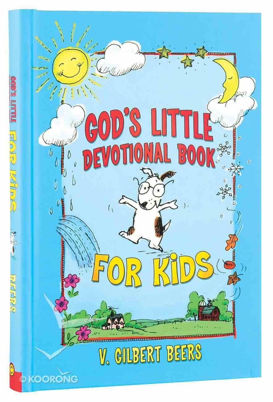 God's Little Devotional Book For Kids Hardback