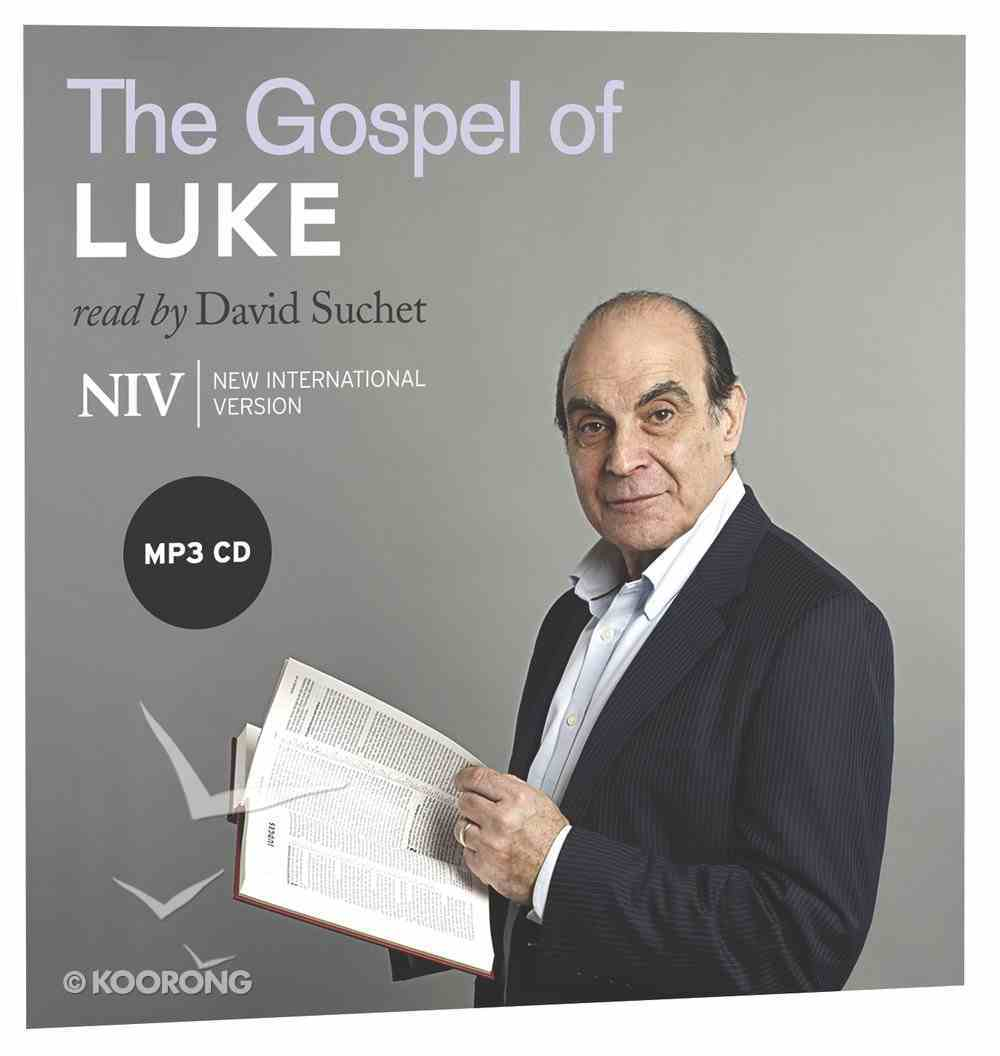 NIV Gospel of Luke MP3 Audio (Read By David Suchet) CD