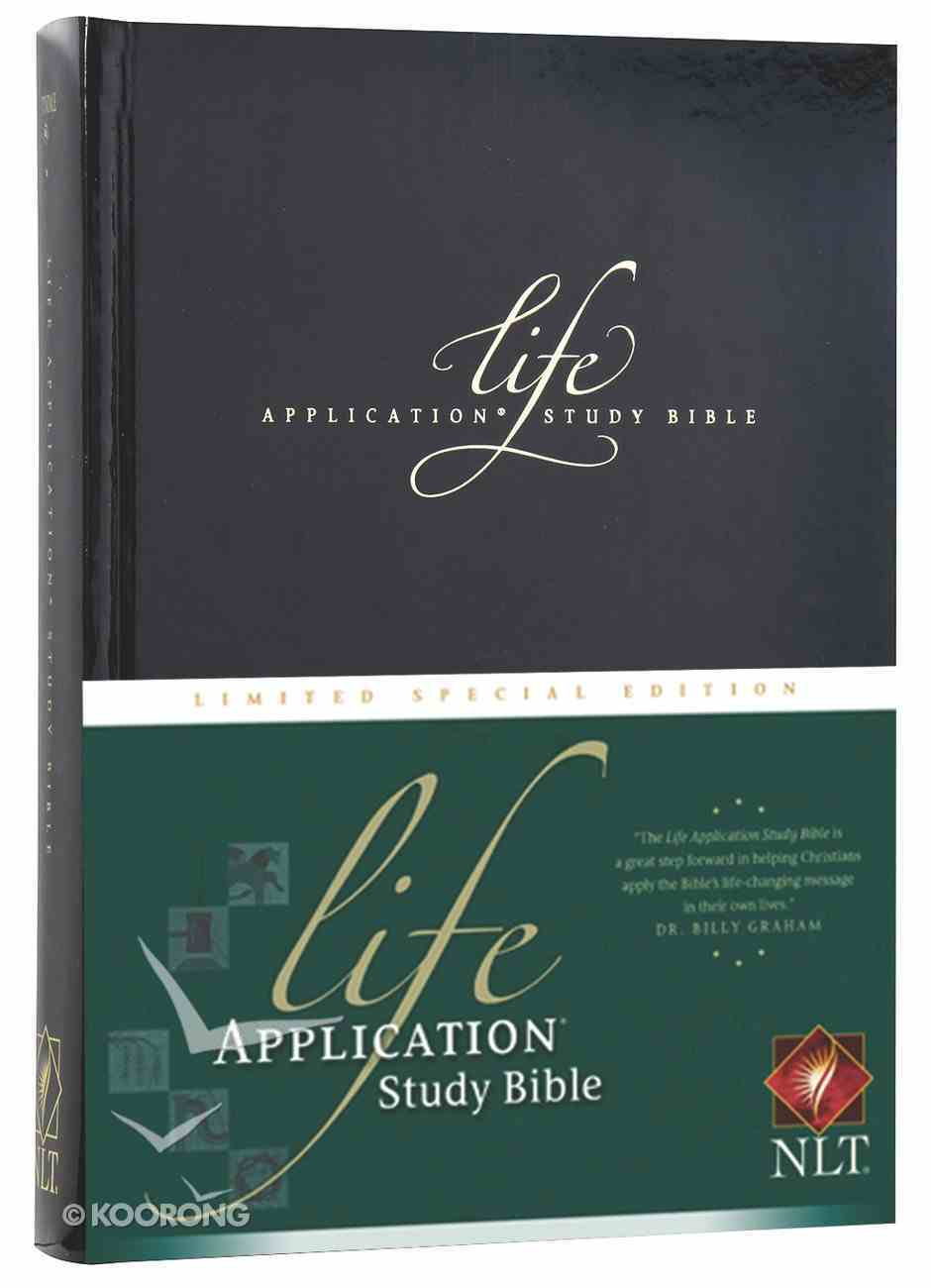 NLT Life Application Study Bible Special Limited Edition Hardback