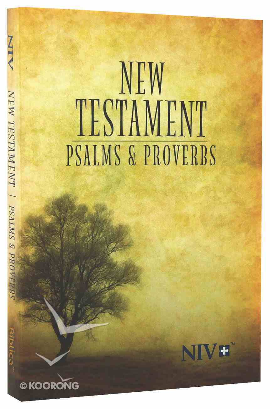 NIV Pocket New Testament With Psalms and Proverbs Tree (Black Letter Edition) Paperback