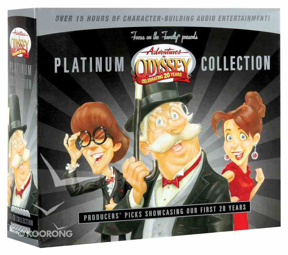 Platinum Collection (12 CDS) (Adventures In Odyssey Audio Series) CD