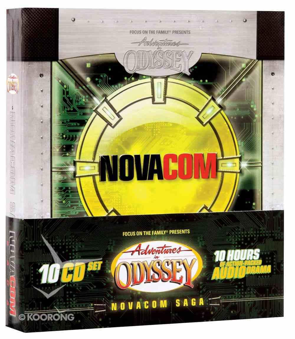 Novacom Saga (10 CDS) (Adventures In Odyssey Audio Series) CD