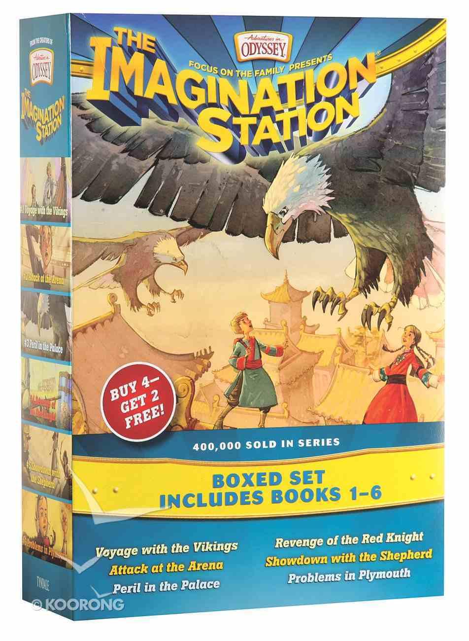 Aio: Imagination Station Boxed Set (Books 1-6) (Adventures In Odyssey Imagination Station (Aio) Series) Pack