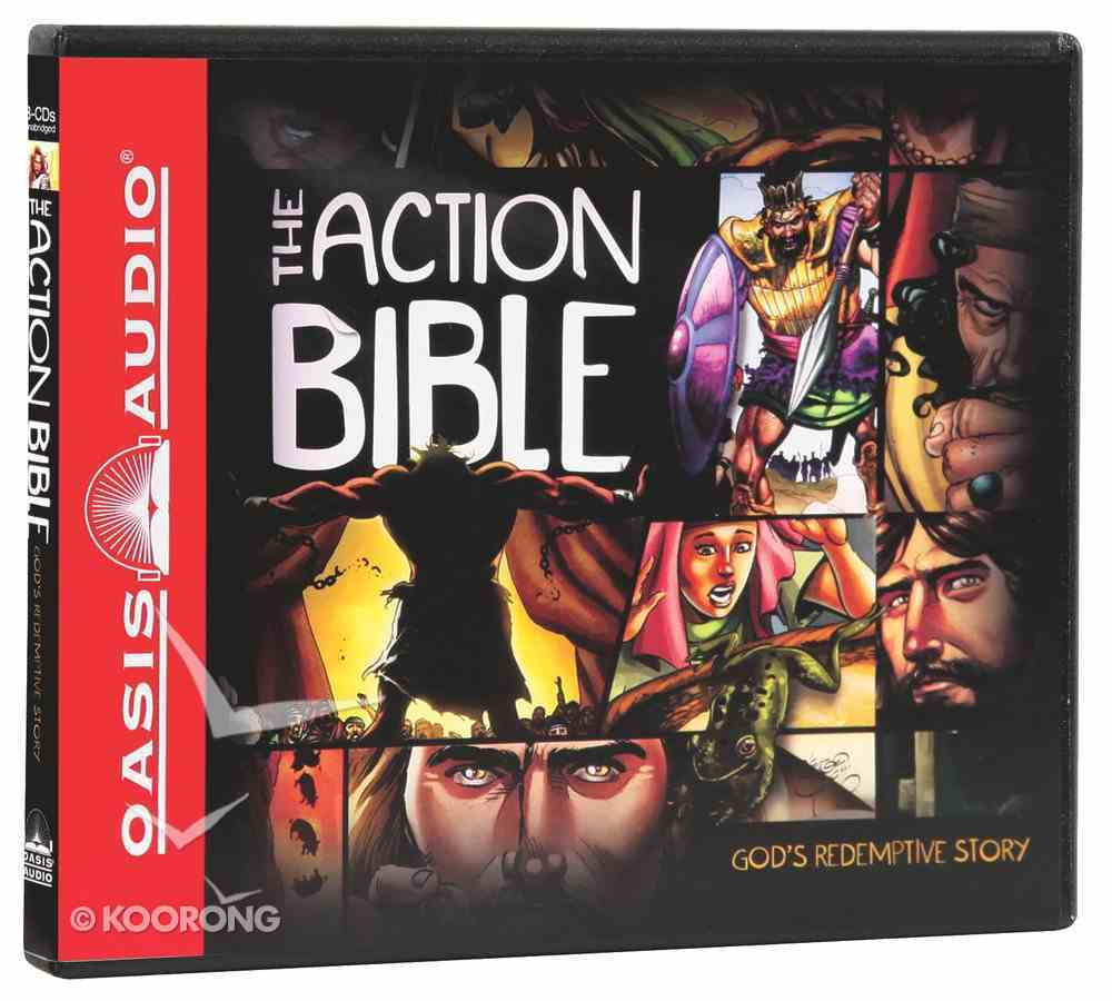 The Action Bible (Unabridged 8 Cds) CD