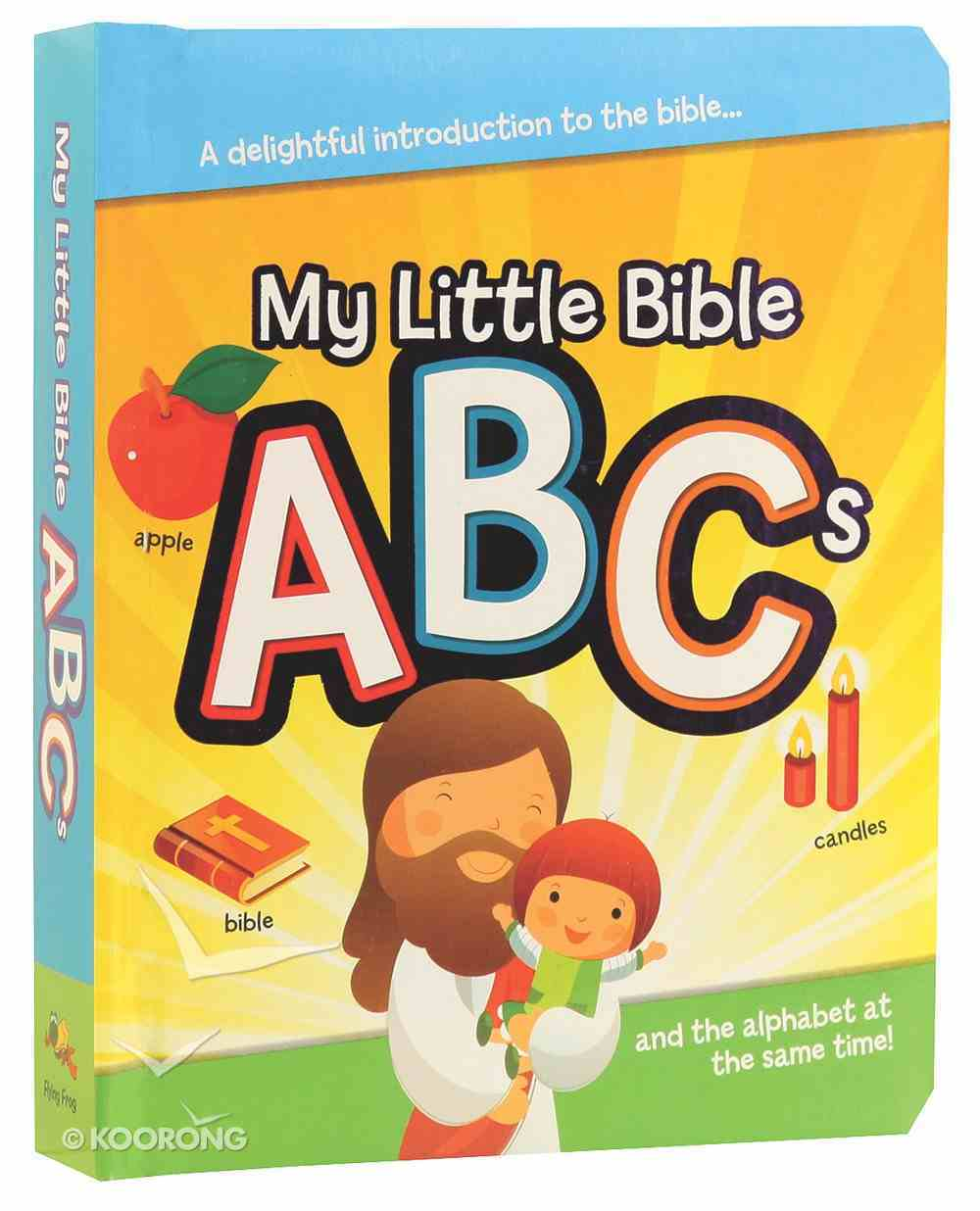 My Little Bible ABCS Board Book