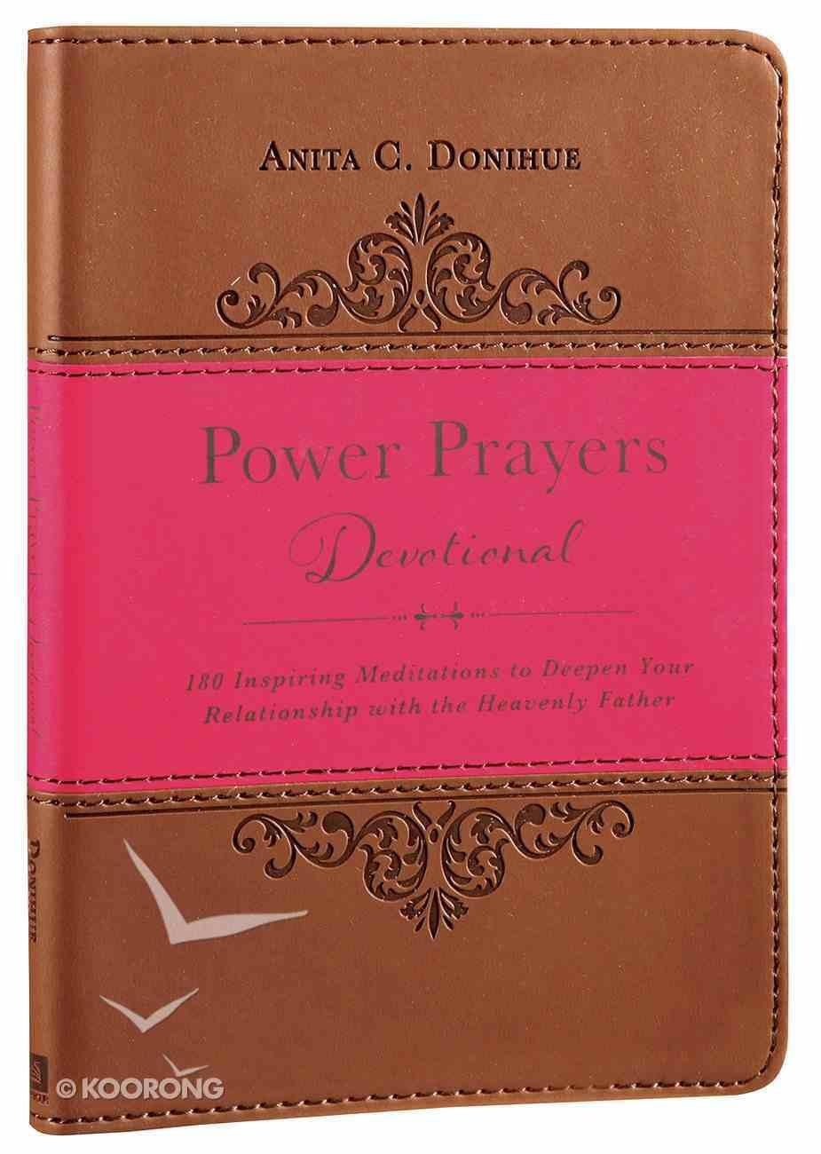 Power Prayers Devotional Imitation Leather