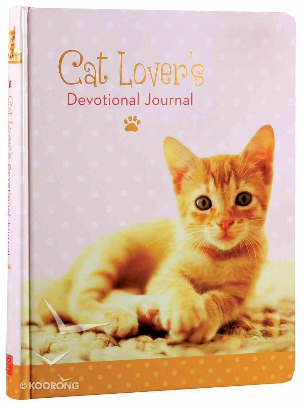 Cat Lover's Devotional Journal Hardback