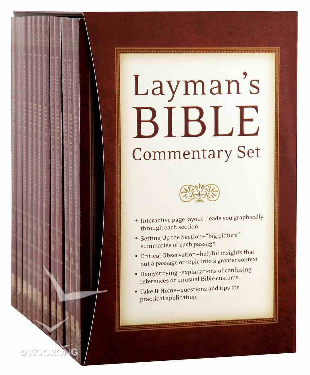 Layman's Bible Commentary (12 Vols) (Layman's Bible Commentary Series) Box