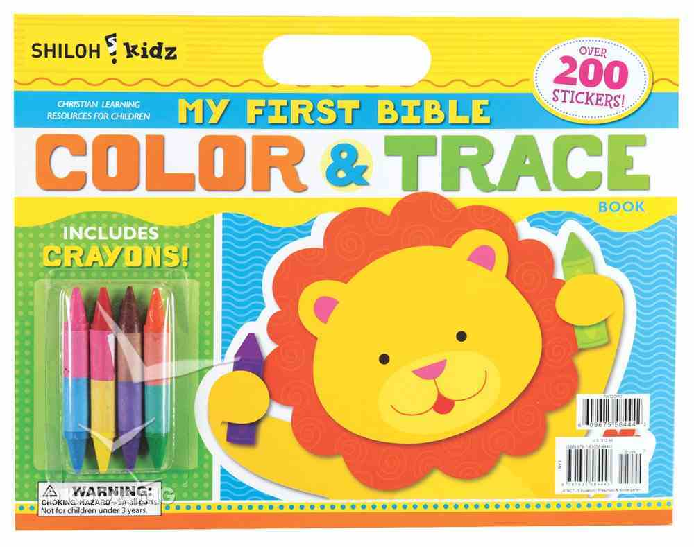 My First Bible Color and Trace Book Paperback