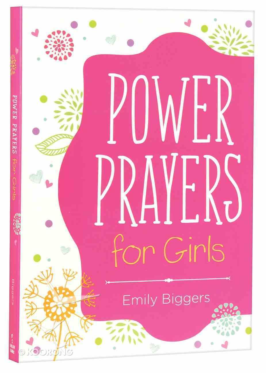Power Prayers For Girls Paperback