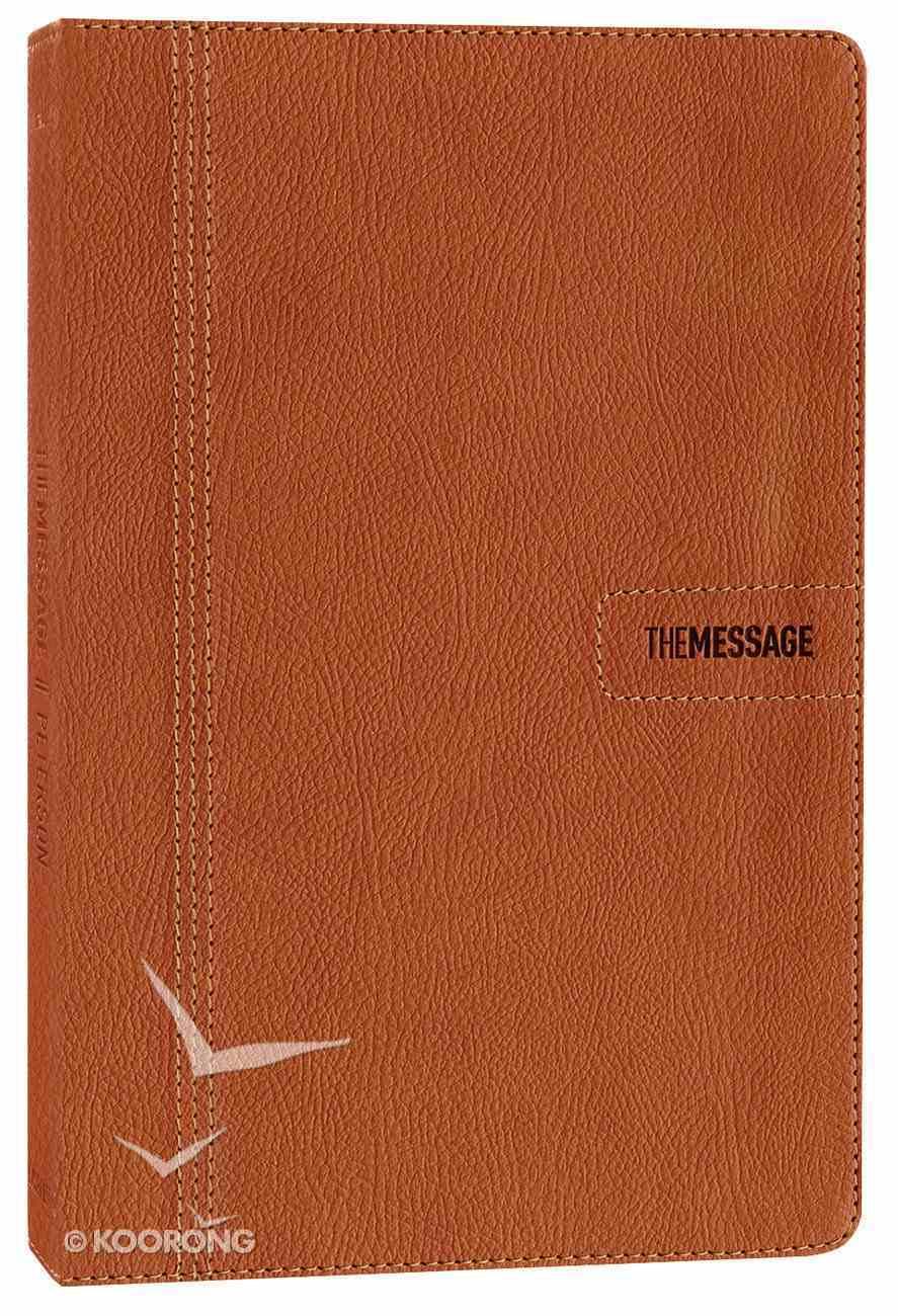 Message Slimline Edition Saddle Tan (Black Letter Edition) Imitation Leather
