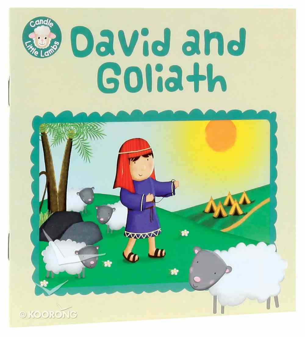 David and Goliath (Candle Little Lamb Series) Paperback
