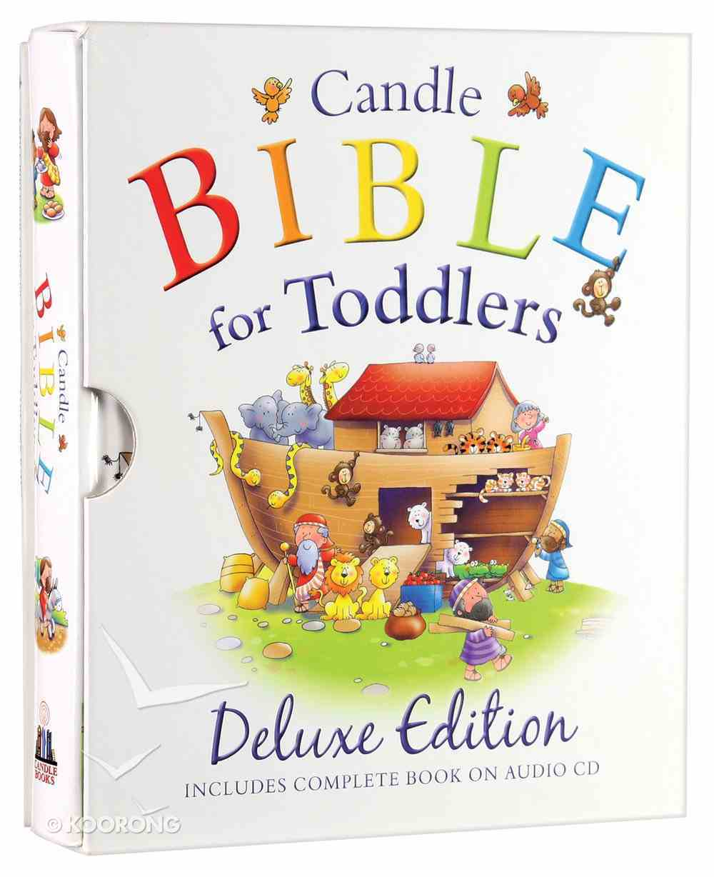 Deluxe Edition With Audio CD (Gemma Hunt Reading) (Candle Bible For Toddlers Series) Pack
