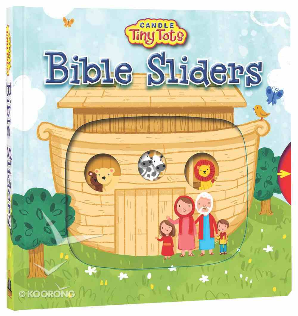 Candle Tiny Tots: Bible Sliders Board Book