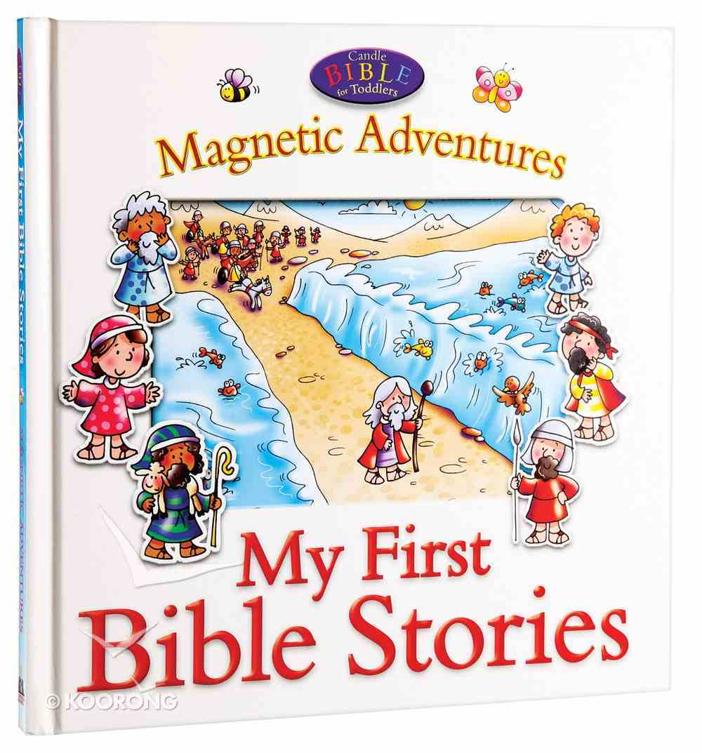 Candle Bible For Toddlers Magnetic Adventures: My First Bible Stories Board Book