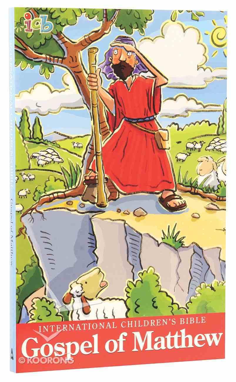 ICB International Children's Bible Gospel of Matthew Booklet