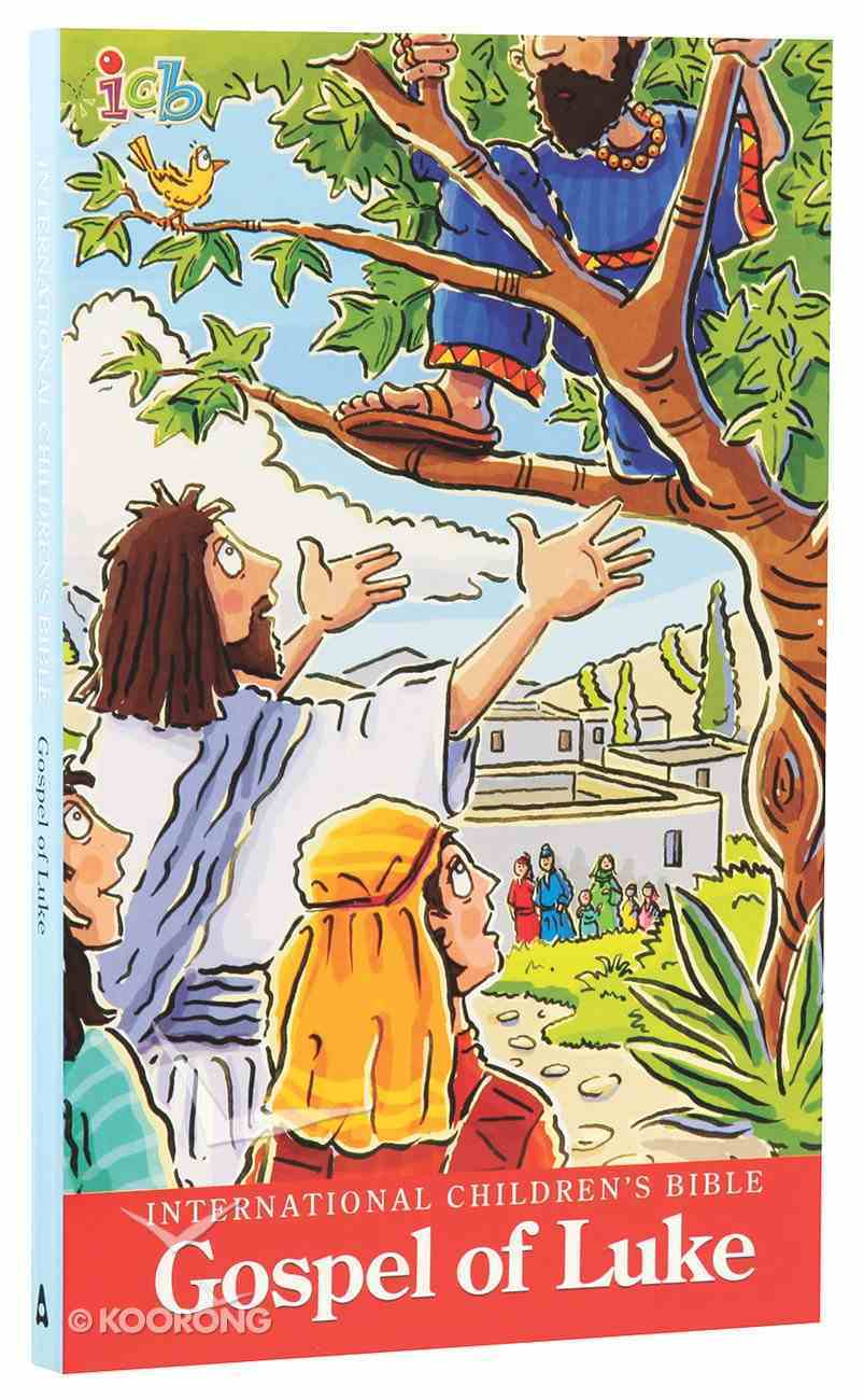 ICB International Children's Bible Gospel of Luke Booklet