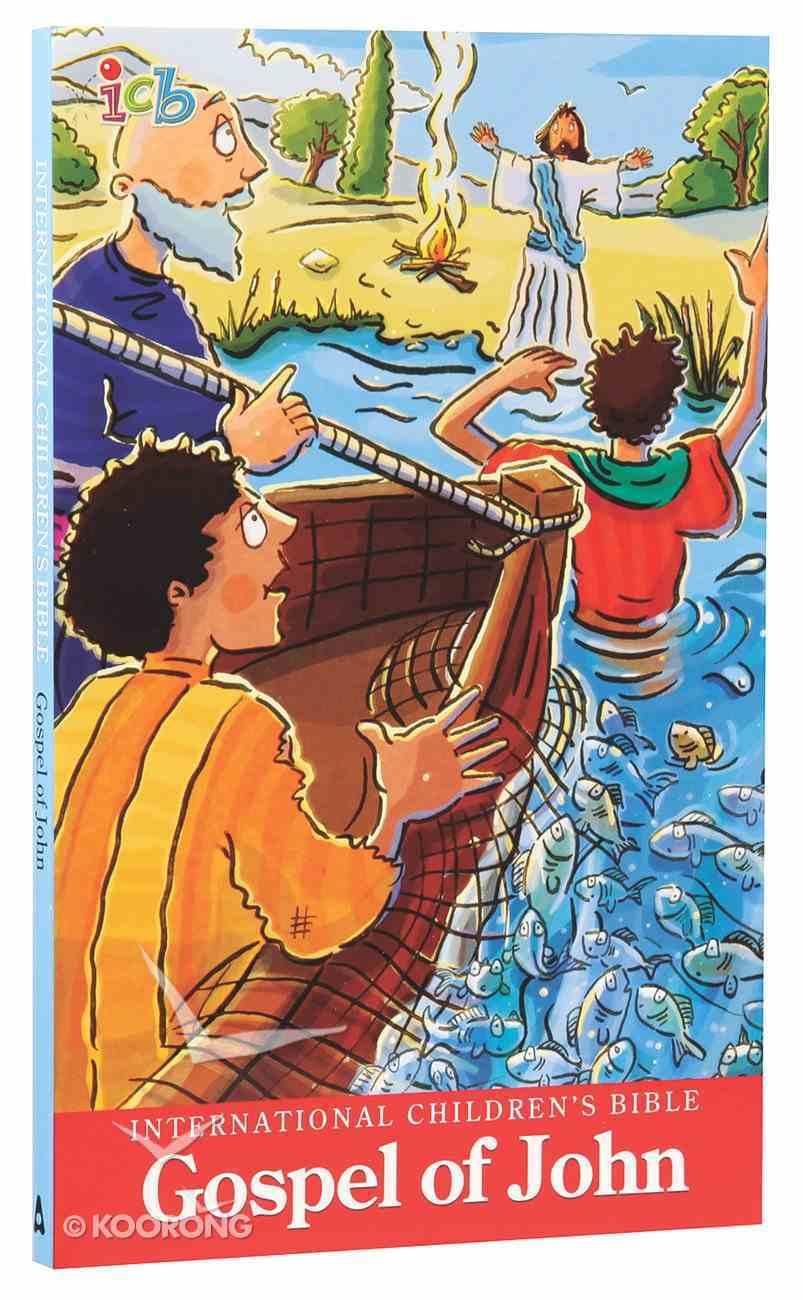 ICB International Children's Bible Gospel of John Booklet