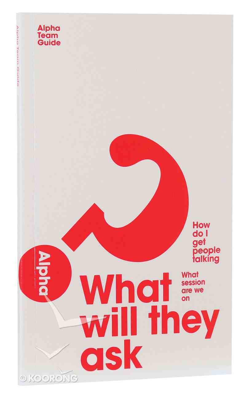 Team Manual (Leaders Guide) (Alpha Course) Paperback