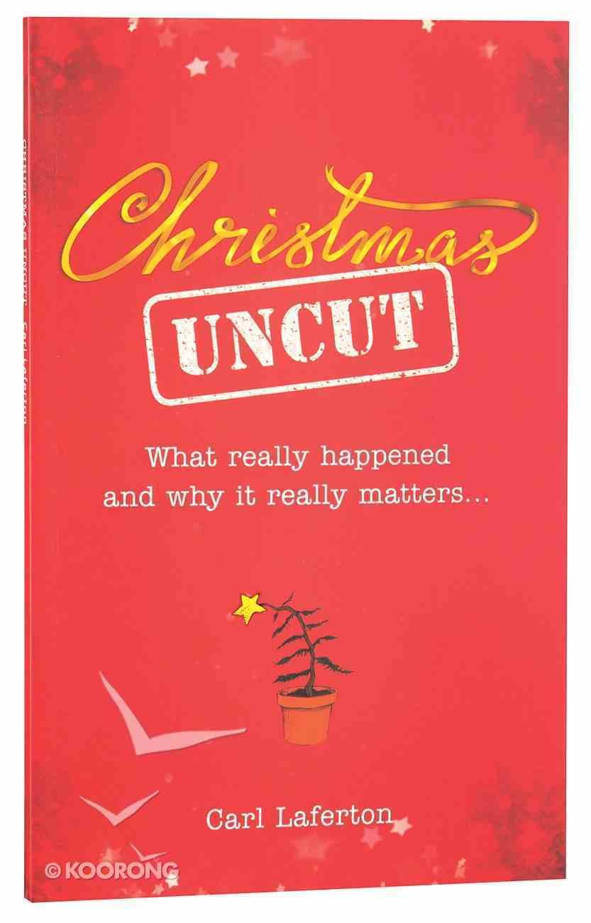 Booklet Christmas Uncut Paperback