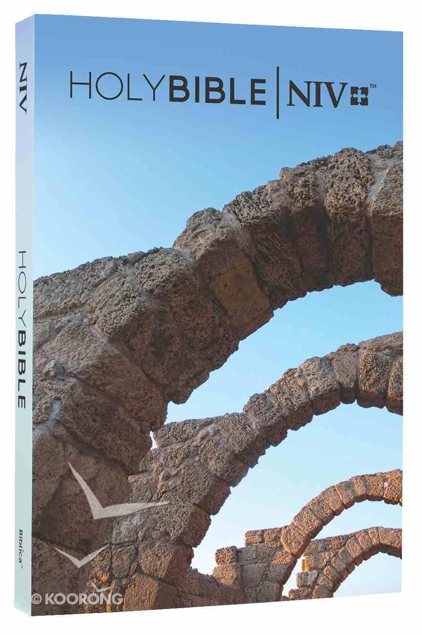 NIV Popular Paperback Bible Caesarea Arches Paperback