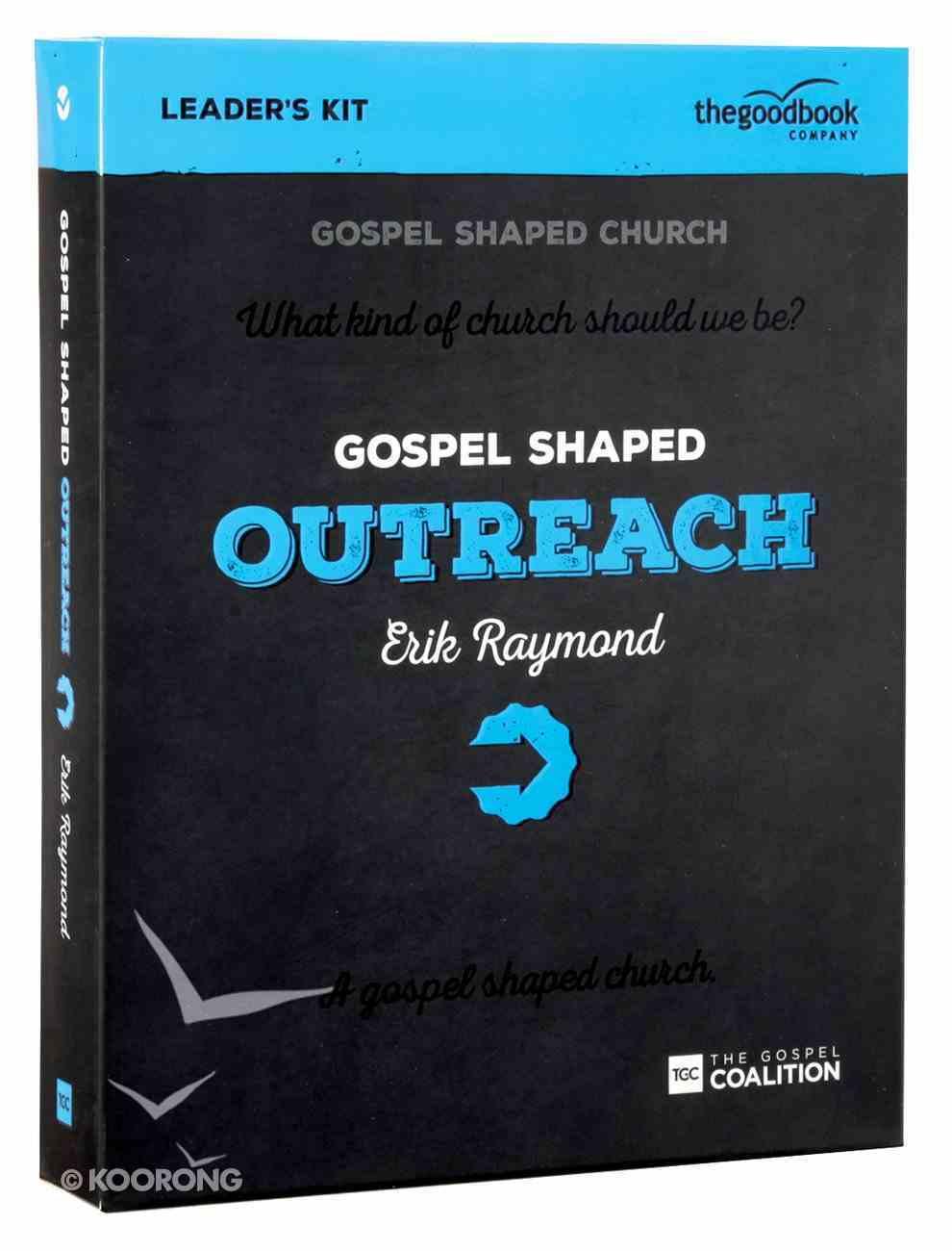 Gospel Shaped Outreach (Dvd Leader Kit) Pack