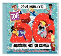 Album Image for Doug Horley's Top 50 Awesome Action Songs - DISC 1
