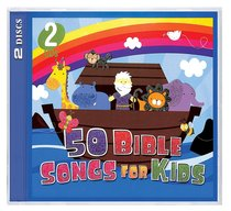 Album Image for 50 Bible Songs For Kids (2 Cds) - DISC 1
