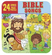 Album Image for 24 Bible Songs (Cd And Puzzle Set) - DISC 1
