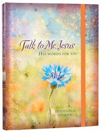 Product: Journal: Talk To Me, Jesus - His Words For You Devotional Journal Image