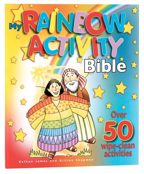Product: My Rainbow Activity Bible Image