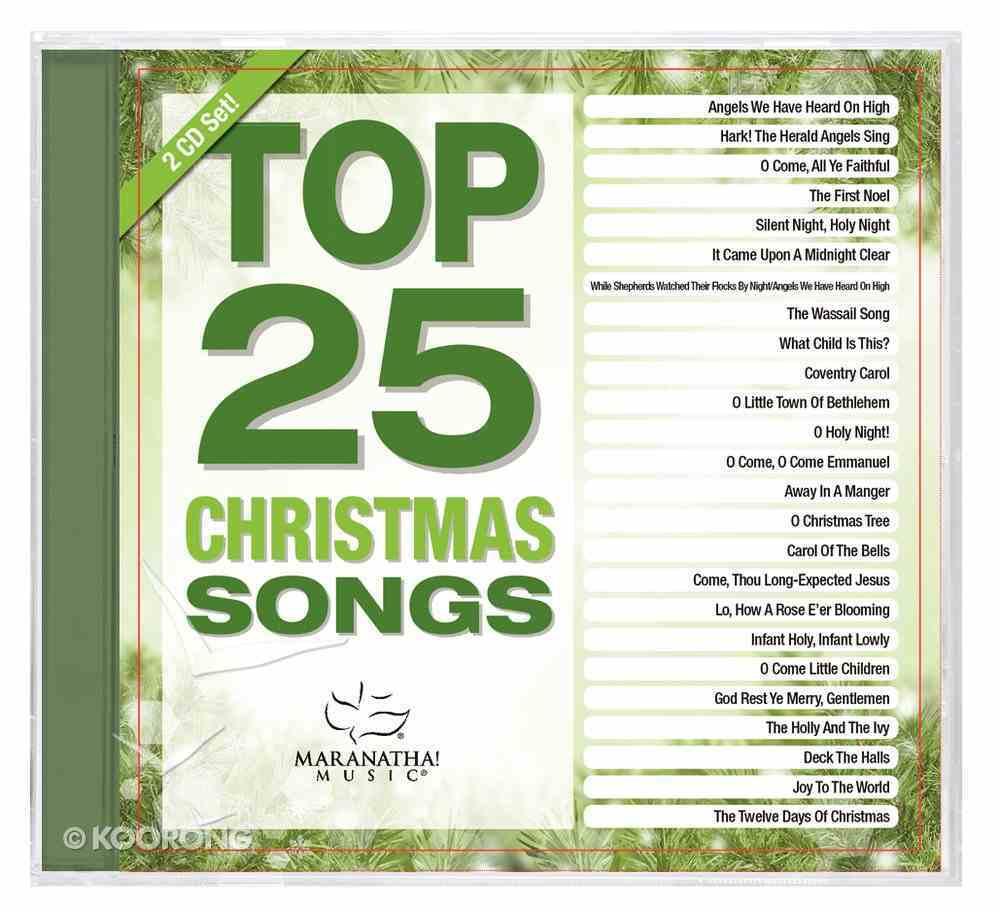Top 25 Christmas Songs (2 Cds) CD