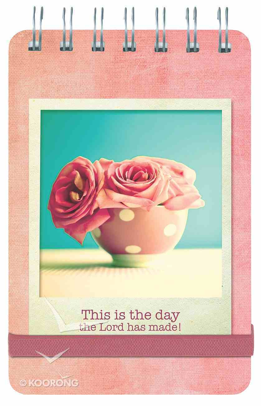 Notepad: Life is Beautiful, This is the Day the Lord Has Made Spiral