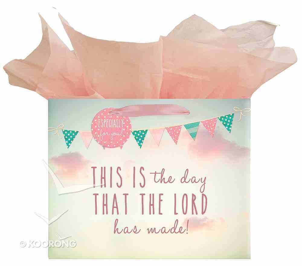 Gift Bag Large: Life is Beautiful, Flags, This is the Day Stationery
