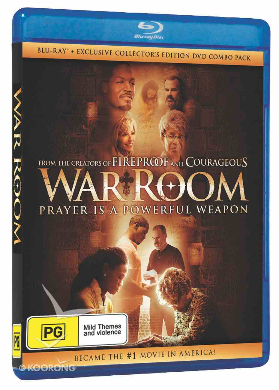 War Room Movie (Blu-ray) Blu-ray Disc